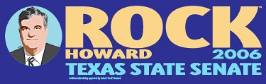 Rock Howard Bumper Sticker